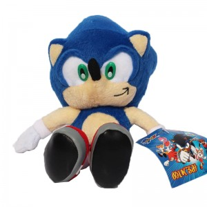 MASKOTKA FIGURKI FIGURKA SONIC THE HEDGEHOG 23CM