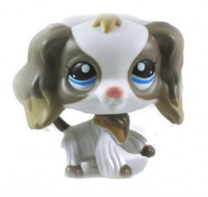 PIESEK SPANIEL UNIKAT LPS LITTLEST PET SHOP