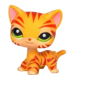 KOT KOTEK SHORTHAIR TYGRYS Littlest Pet Shop LPS