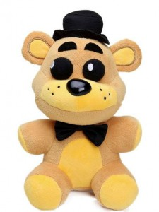 PLUSZAK MASKOTKA FNAF FIVE NIGHTS AT FREDDY GOLDEN