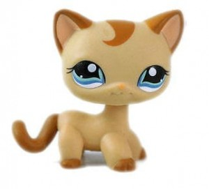 KOTEK SHORTHAIR UNIKAT LPS LITTLEST PET SHOP