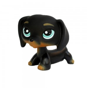 LITTLEST PET SHOP LPS FIGURKA JAMNIK PIESEK DOG